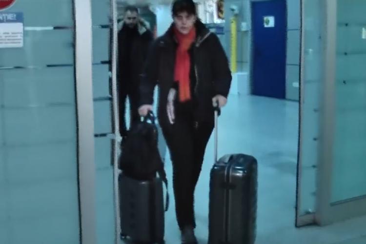 Laura Codruța Kovesi a aterizat la Cluj, cu o cursă care a întârziat 20 de ore. A depus plângere împotriva Wizz Air