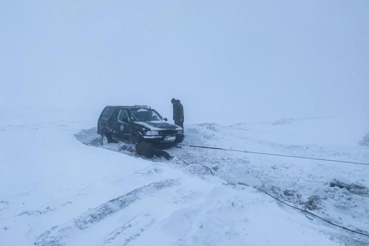Intervenție dramatică de salvare a Rescue 4x4 pe Vârful Ijar, lângă Tarnița - FOTO