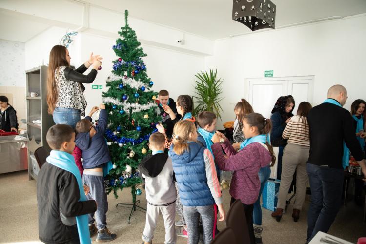 Acțiune caritabilă organizată de PMP Cluj pentru copiii orfani
