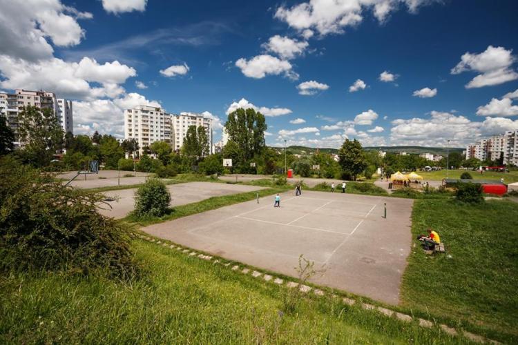 """Proiectul bazei sportive """"La Terenuri"""" din Mănăștur, pus pe masa Consiliului Local. Cum va arăta VIDEO"""