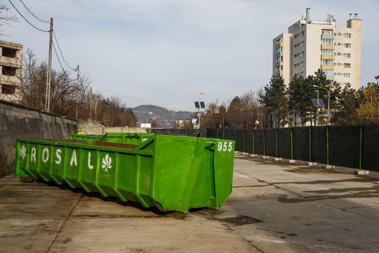 Două noi centre de colectare a deșeurior voluminoase la Cluj. Vezi unde sunt amplasate