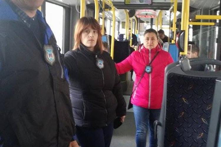 O nouă forță de protecție și pază face ordine la Cluj! Au curățat autobuzele de cerșetori - FOTO