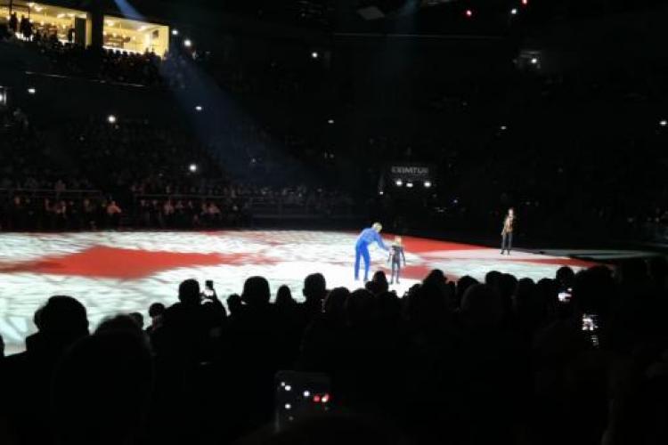 """Mesajul organizatorilor """"Kings on Ice"""", după scandalul de la Cluj: Vina exclusivă este a firmei de producție a patinoarului - VIDEO"""