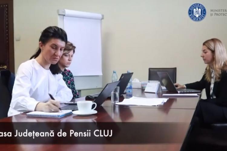 Ministrul Muncii a testat BĂTAIA de joc de la Casa de Pensii Cluj. Nu răspunde nimeni la telefon - VIDEO