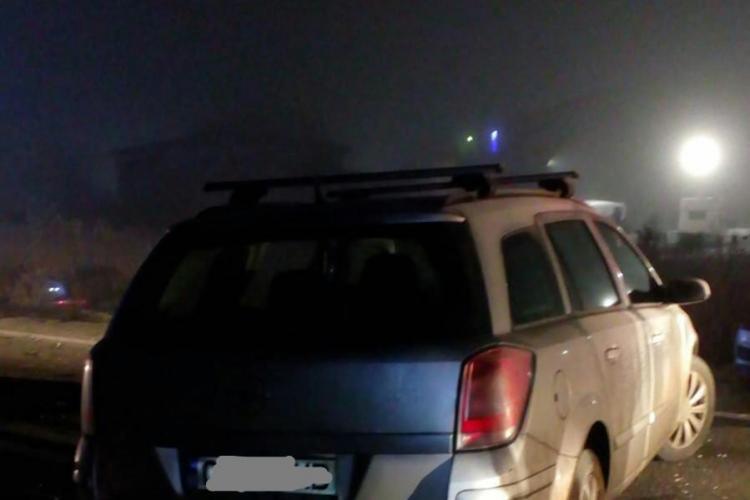 Accident cu trei autoturisme pe centura Vâlcele-Apahida, cauzat de un șofer beat la volan FOTO