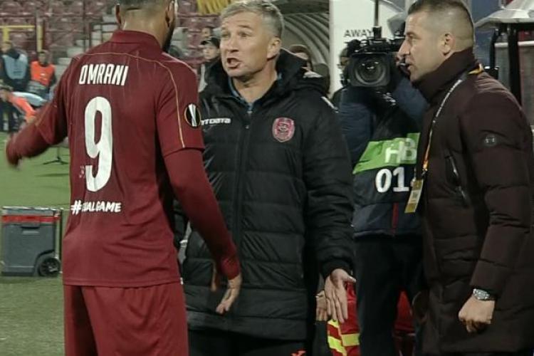 FCSB vrea un jucător de la CFR Cluj, dar Dan Petrescu se opune