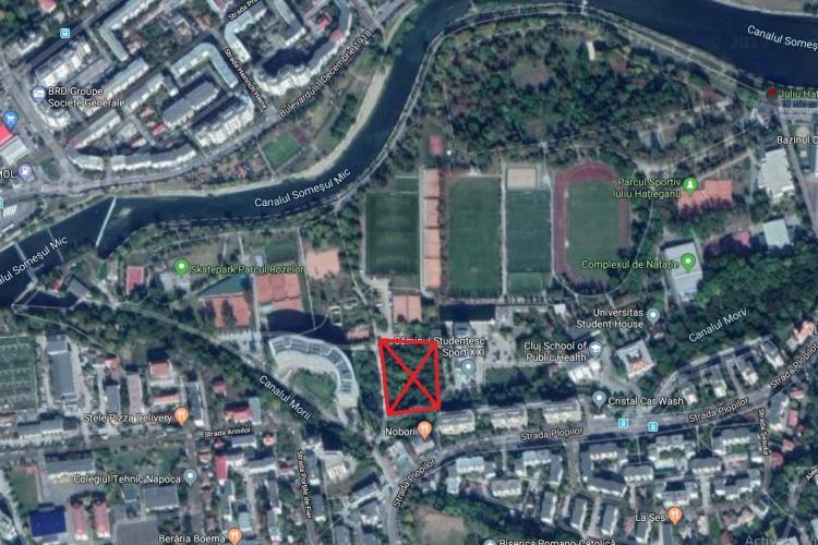 """Emil Boc se spală de orice vină în scandalul ridicării unui bloc TURN lângă Parcul Sportiv """"Iuliu Hațieganu"""""""