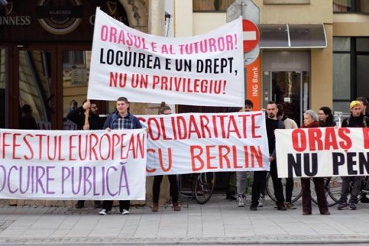 Marș împotriva chiriilor prea scumpe la Cluj-Napoca! Vezi când are loc