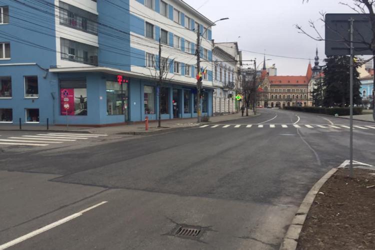 Clujul mai gol ca niciodată: E trist. Se vede mai bine sărăcia, mizeria, urâțenia orașului comunist... - FOTO