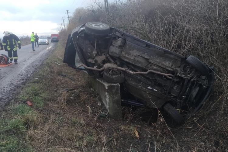 Tragedie în ziua de Crăciun, la Cluj! Un adolescent de 16 ani a murit în urma unui accident FOTO