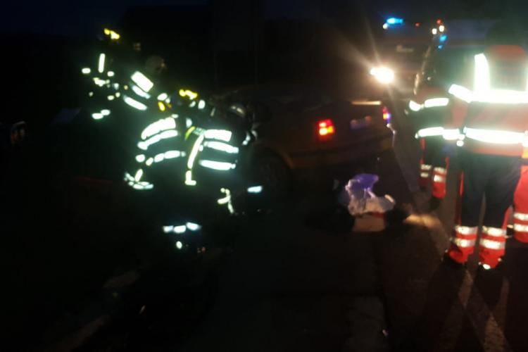 Accident pe centura orașului Gherla produs de un cetățean polonez