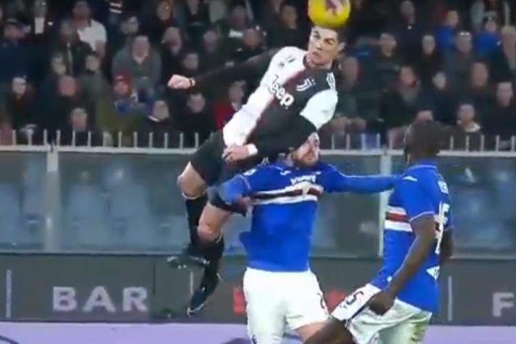 VIDEO - Gol stratosferic al lui Cristiano Ronaldo. La ce înălțime a sărit portughezul