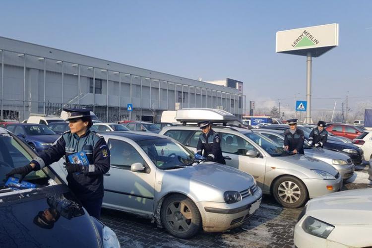 Acțiune pentru prevenirea furturilor din autoturisme în Mărăști FOTO