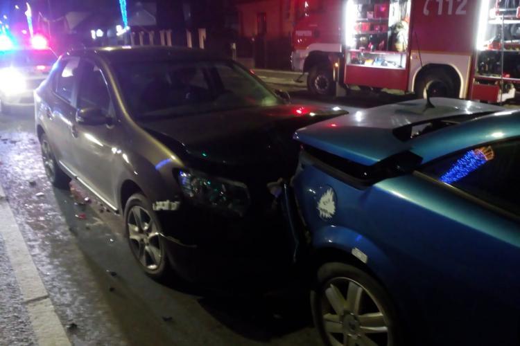 Accident la Florești. Două persoane au ajuns la spital FOTO