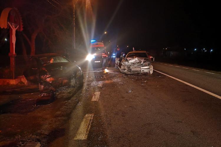 Accident cu victime la Negreni. Două femei au ajuns la spital FOTO