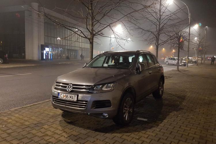 Șofer nesimțit cu legitimație de la Consiliul Județean Cluj în bord. E lider al PSD Cluj - FOTO