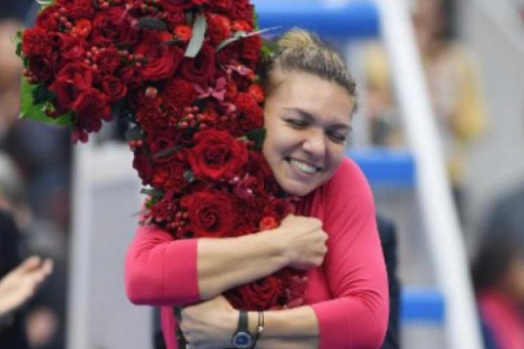 Simona Halep, pe primul loc în topul celor mai apreciați sportivi români: Este o performanță