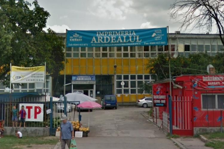 Mafia imobiliară va pune mâna pe un alt teren de valoare al Clujului. Se vinde terenul de la tipografia Ardealul. Iarăși blocuri?