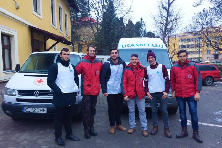 """""""Banca de Alimente la USAMV Cluj-Napoca"""", în parteneriat cu Crucea Roșie, pentru familii nevoiașe"""