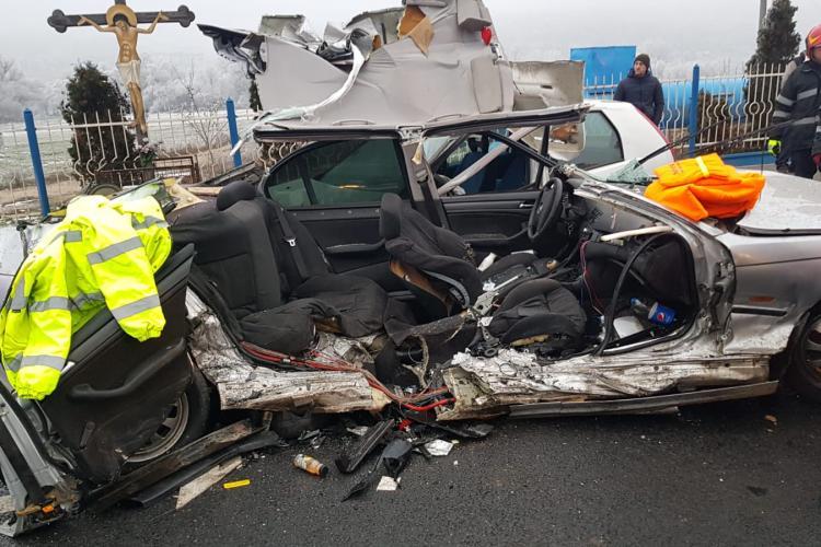 Accident GRAV lângă VIVO, în Florești, cu multiple victime - FOTO și VIDEO / UPDATE: Șoferul cu BMW nu avea permis