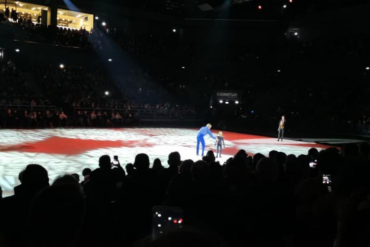 Kings on Ice la BT Arena! Spectacol grandios, dar GAFA cu gheața este de nepermis - VIDEO cu momentele magice de pe gheață