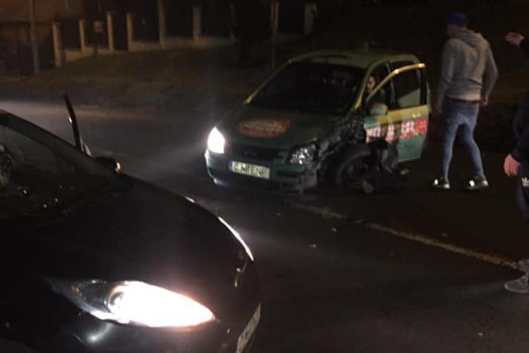 Accident pe Tăietura Turcului - FOTO