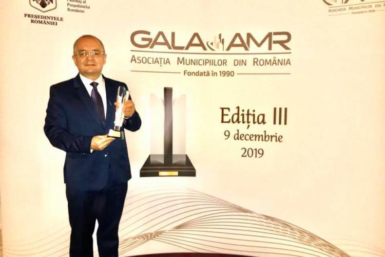 Emil Boc a mai luat un premiu important, după cel de Digitalizare și Transport Public