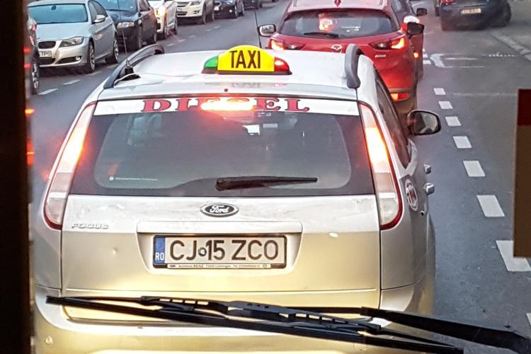Clujul blocat luni dimineață. 30 de minute un drum de 5 km - FOTO