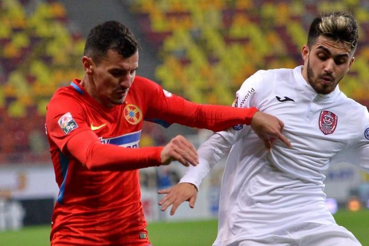 Sebastian Mailat trece de la CFR Cluj la U Cluj. E al doilea jucător transferat între rivalele de moarte