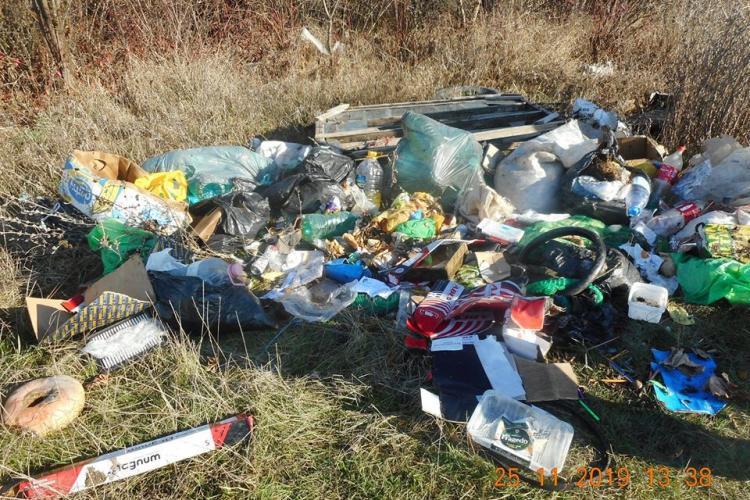 Amenzi de aproape 1 milion de lei la Cluj-Napoca pentru gunoaiele aruncate ilegal