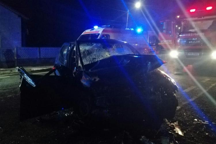 Accident GRAV la Cluj, cu multiple victime. Pompierii și-au făcut treabă - FOTO