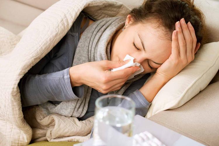 Clujul e între județele afectate de gripă și răceli