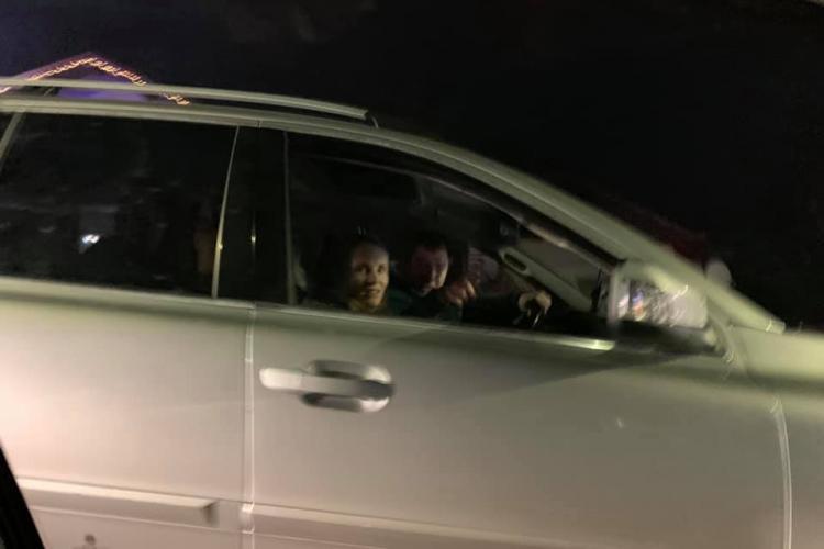 """Șicanare în trafic, în Florești! """"Nevasta minunată râdea lângă el"""" - FOTO"""