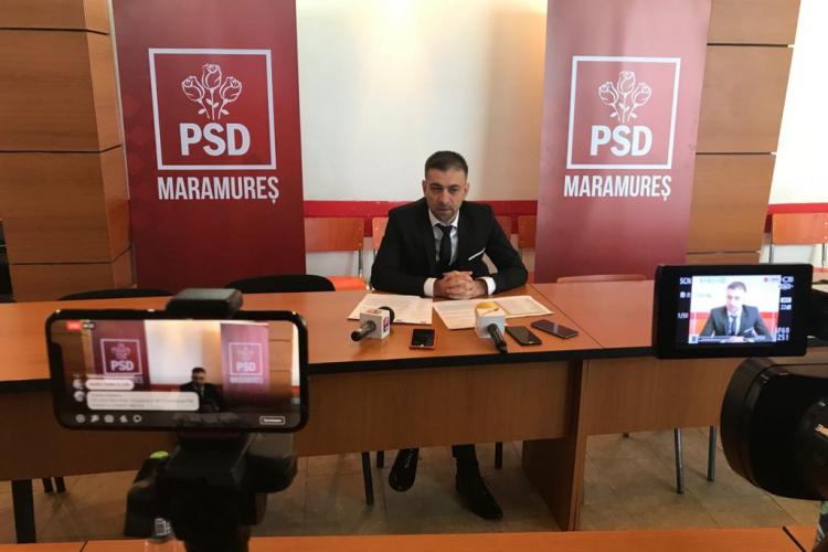 Președintele PSD Maramureș, Gabriel Zetea, plângere penală împotriva fostului președinte interimar al PSD Cluj