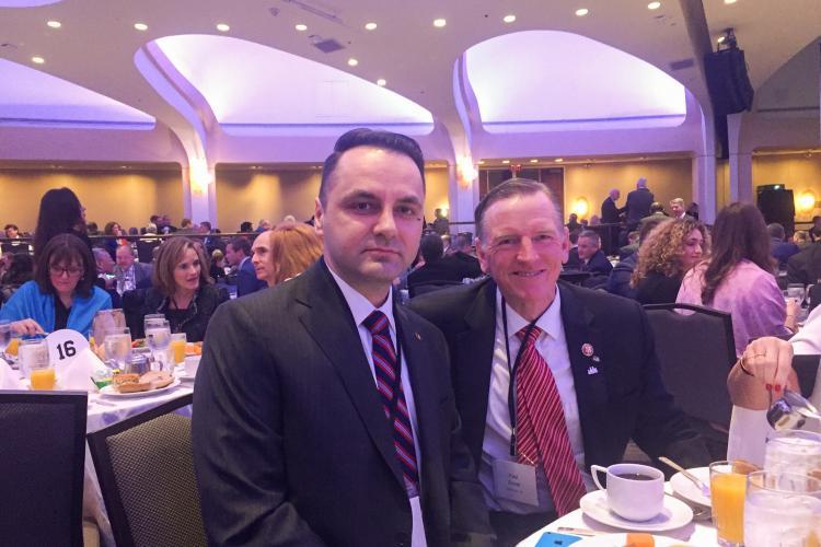 Senatorul Vasile-Cristian Lungu, prezent la unul dintre cele mai mari evenimente politice din SUA