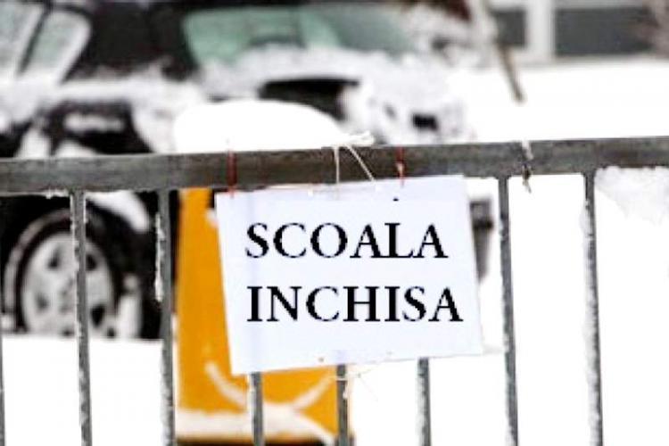 Șapte școli din Cluj sunt închise parțial din cauza gripei. Sunt de 15 ori mai mulți bolnavi