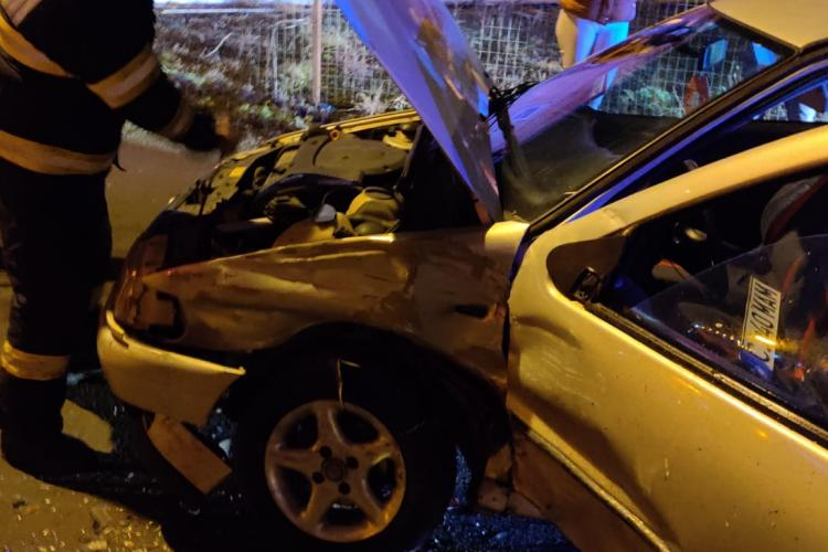 Accident cu o victima în Someșeni. O tânără de 18 ani a ajuns la Spital FOTO