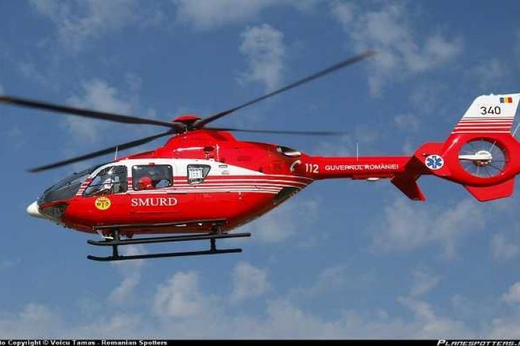Reacția Inspectoratului General de Aviație după aterizarea de urgență a elicopterului SMURD la Cluj