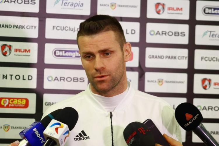 """Fostul CFR - ist, Andrei Mureșan, primele declarații la U Cluj: """"Am o datorie față de U Cluj!"""""""