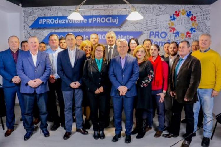 PRO România Cluj a validat 12 dintre candidații pentru alegerile locale 2020
