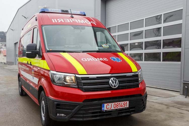 Tot parcul de ambulanțe SMURD al Clujului este nou. Câte autospeciale s-au primit anul trecut