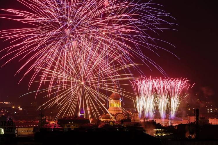 Concerte și foc de artificii la Cluj, de Ziua Principatelor Române. Vezi care este programul evenimentelor
