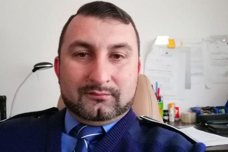 Claudiu Rus, polițistul agresor cu rozetă pe modelul interlopilor, cercetat de Parchetul Tribunalului