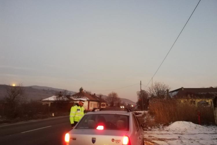 Razie de dimineață în Baciu. Câte amenzi s-au împărțit în câteva ore FOTO