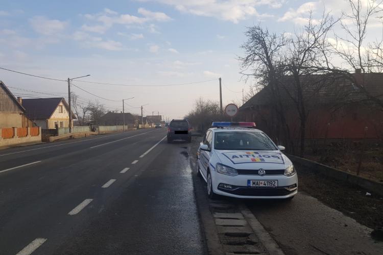 Razie de amploare în trafic la Cluj, pentru a prinde vitezomanii. Câți șoferi au rămas fără permis FOTO