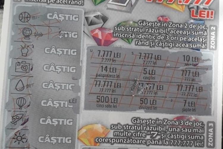 Un bistrițean pretinde că a câștigat 77.777 de lei la LOTO, dar nu i se acordă banii! Internetul a luat foc
