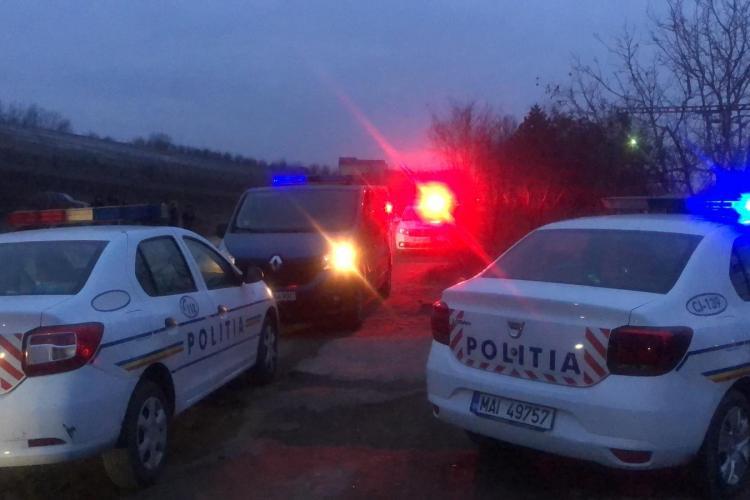 Bărbat spulberat de tren în Someșeni. Era întins pe calea ferată FOTO