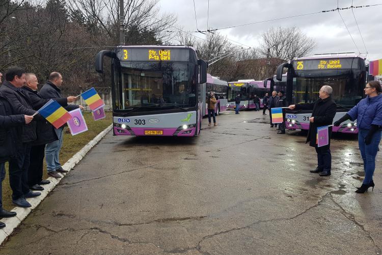 Clujul are 25 de troleibuze noi. Apar și curse noi, unele spre Emerson - VIDEO