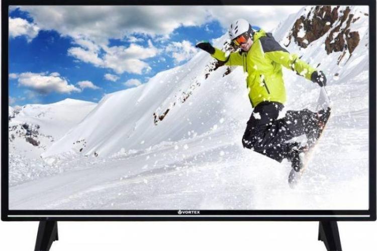 """Vortex, brand-ul """"no name"""" cel mai apreciat și cel mai bine vândut în România, când vine vorba de televizoare"""