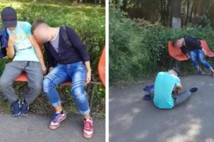 Judecător clujean: Tineri drogați cu etnobotanice, ridicați cu Salvarea din toaleta unui mall